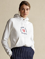 Polo Ralph Lauren - Fleece Hoodie - hættetrøjer - white - 0
