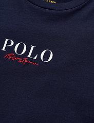 Polo Ralph Lauren - Logo Cotton Tee - t-shirts - cruise navy - 3