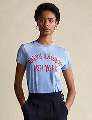 Polo Ralph Lauren - Graphic Logo Cotton Tee - t-shirts - harbor island blu - 0