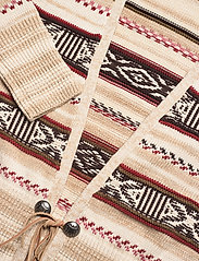 Polo Ralph Lauren - TE FRT CARDI-LONG SLEEVE-SWEATER - cardigans - cream/brown strip - 2