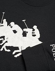 Polo Ralph Lauren - HEARD CN PO-LONG SLEEVE-KNIT - sweatshirts - polo black - 2