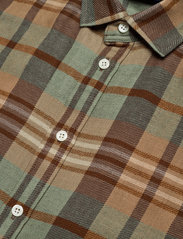Polo Ralph Lauren - Plaid Wool Shirtdress - shirt dresses - 957 brown tan mul - 2