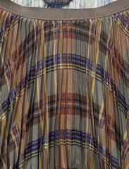 Polo Ralph Lauren - Plaid Pleated Midi Skirt - midi skirts - 1121 fall multi p - 2