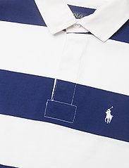 Polo Ralph Lauren - Cotton Cropped Rugby Shirt - polo shirts - deckwash white/fa - 2