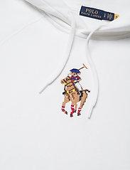 Polo Ralph Lauren - Polo Bear Embroidered Hoodie - hoodies - white - 2