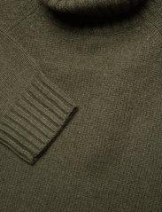 Polo Ralph Lauren - Wool-Cashmere Sweater Dress - knitted dresses - loden heather - 2