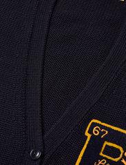 Polo Ralph Lauren - Patchwork Wool V-Neck Cardigan - cardigans - navy multi - 2