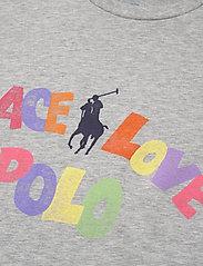 Polo Ralph Lauren - 40/1 COTTON JERSEY-SSL-TSH - t-shirts - andover heather - 2
