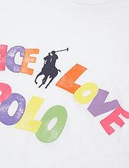 Polo Ralph Lauren - 40/1 COTTON JERSEY-SSL-TSH - t-shirts - white - 2