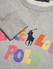 Polo Ralph Lauren - LW SEASONAL FLEECE-LSL-SWS - sweatshirts - andover heather - 2