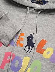 Polo Ralph Lauren - LW SEASONAL FLEECE-LSL-SWS - hættetrøjer - andover heather - 2