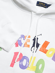 Polo Ralph Lauren - LW SEASONAL FLEECE-LSL-SWS - hættetrøjer - white - 2