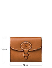 Polo Ralph Lauren - Tartan Wool Compact Wallet - wallets - cuoio - 5