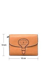 Polo Ralph Lauren - Tartan Wool Compact Wallet - wallets - natural - 5