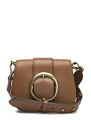 Pebbled Leather Lennox Bag - SADDLE