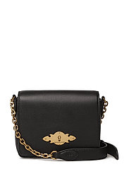 SUPER TOUCH LEATHER-CHAIN CRSBDY-CX - BLACK
