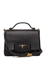 SMOOTH LEATHER-SCHOOLY-THD-MED - BLACK