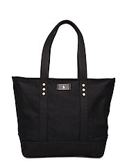 Canvas Tote Bag - BLACK