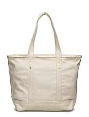 Canvas Tote Bag (Ecru) (£49.50) - Polo Ralph Lauren -  c13b12dd26451