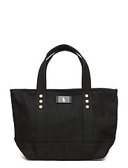 CANVAS-SM CLSC TOTE-TTE-MED - BLACK