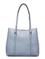 Pebbled Leather Lennox Tote - CHAMBRAY