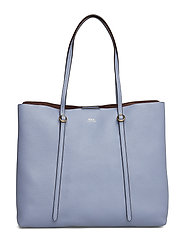 Large Leather Lennox Tote - CHAMBRAY