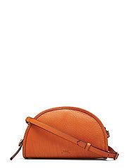 Calfskin Crossbody Bag - PERSIMMON