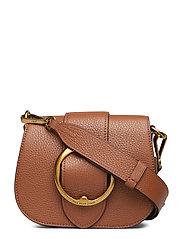 Pebbled Leather Lennox Bag - SADDLE