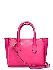 Leather Mini Sloane Satchel - PEONY
