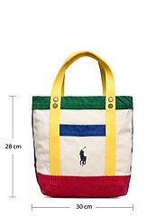Polo Ralph Lauren - Color-Blocked Canvas Tote - shoppers - multi - 6