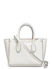 Leather Mini Sloane Satchel - WHITE