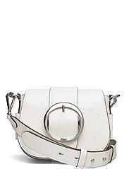 Leather Lennox Crossbody Bag - WHITE