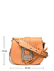 Polo Ralph Lauren - Leather-Inlay Small Crossbody - shoulder bags - natural - 6