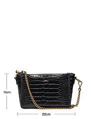 Polo Ralph Lauren - CROC EMBOSSED LTHR-SLOANE XBDY-CXB- - shoulder bags - black - 6