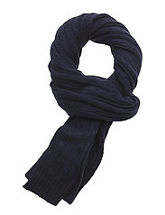 WOOL/CASH-WOOL CSH CL CABLE SC - HUNTER NAVY