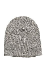 CASHMERE-CASHMERE DONEGAL HAT - LIGHT VINTAGE HEA
