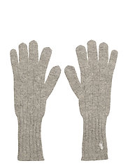 WOOL/CASH-WL CASH CL CBL GLOVE - LIGHT VINTAGE HEA