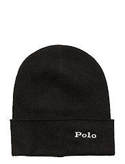CASHMERE-CASH HAT-HAT - BLACK