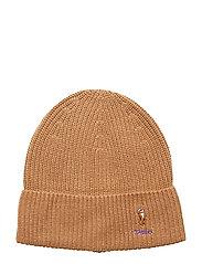VISCOSE BLEND-CARD HAT-HAT - CAMEL