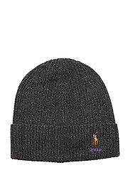 VISCOSE BLEND-CARD HAT-HAT - CHARCOAL
