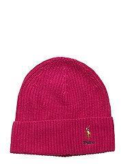 VISCOSE BLEND-CARD HAT-HAT - DARK CURRANT