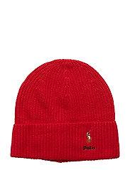 VISCOSE BLEND-CARD HAT-HAT - RALPH RED
