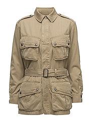 Cotton Twill Jacket - BARRACKS TAN