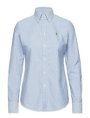 Custom Fit Cotton Oxford Shirt - BSR BLUE