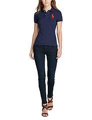 Polo Ralph Lauren - Skinny-Fit Big Pony Polo Shirt - pikeepaidat - newport navy - 5