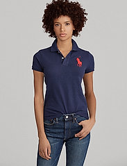 Polo Ralph Lauren - Skinny-Fit Big Pony Polo Shirt - pikeepaidat - newport navy - 7