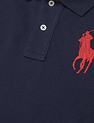 Polo Ralph Lauren - Skinny-Fit Big Pony Polo Shirt - pikeepaidat - newport navy - 3