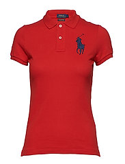 Skinny-Fit Big Pony Polo Shirt - RL2000 RED