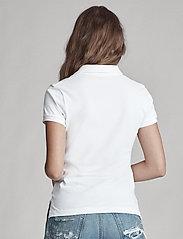 Polo Ralph Lauren - Skinny-Fit Big Pony Polo Shirt - polo shirts - white/navy pp - 6