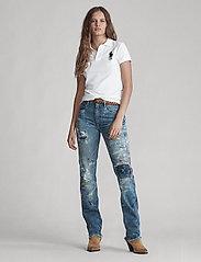 Polo Ralph Lauren - Skinny-Fit Big Pony Polo Shirt - polo shirts - white/navy pp - 4